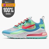 Sepatu Sneakers Nike Wmns Air Max 270 React BLUE LAGOON Original AT617