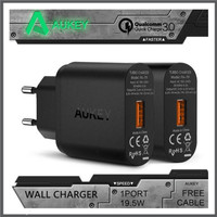 New Acc AUKEY USB Charger with Qualcomm Quick Charge 3 0 PA T9