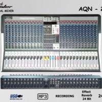 Audio Mixer Black Spider AQN - 24/4X (24 Channel mono)