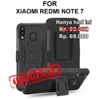 Case Xiaomi Redmi Note 7 softcase casing cover belt clip FUTURE ARMOR