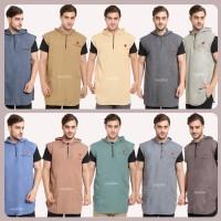 Baju Koko Gamis Pakistan Rosal Rompi Sholat Hoodie 10 warna