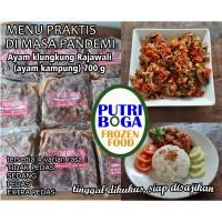 Ayam Klungkung Rajawali (ayam kampung) halal frozen/beku