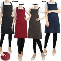 Apron Masak / Apron Barista / Celemek Masak / Apron Chef custom