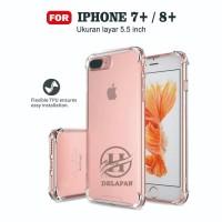Softcase for Iphone 7 Plus Case Anti Crack / Anti Shock