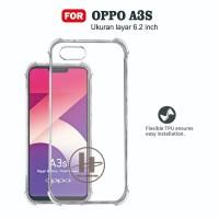 Case OPPO A3S Soft Case Anti Crack Anti Shockproof