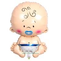 Balon Foil Baby Boy / Balon Karakter Baby Boy / Balon Baby Shower