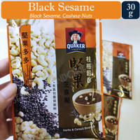 Quaker Oats - Nutty Cereal Series Import Taiwan 5 Rasa - Sachet