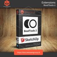 BoolTools 2 Ekstensi SketchUp