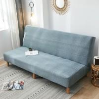 Elastic Vintage Sofa Bed Cover /Penutup Sofa Bed Shabby Polos Bermotif