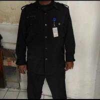 Seragam PDL safari security I baju seragam security I baju PDL