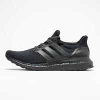 Adidas Ultra Boost 2.0 All Black Premium Original / Sepatu Ultraboost