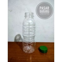 Botol plastik PET 200ml - Botol Air mineral 200ml - Botol Minuman