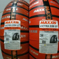 Ban Maxxis 120/70-14 & 140/70-14 Victra Tubless
