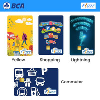 Kartu Flazz BCA Etoll Gen 2 Officially BCA