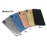 Backdoor Tutupan Baterai Back Casing Xiaomi Redmi S2 - Hitam