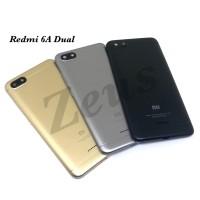 Backdoor Tutupan Baterai Back Casing Xiaomi Redmi 6A Dual Sim - Abu-abu