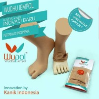 AFNA Socks Kaus Kaki / Kaos Kaki Kanik Wupol - Kaos Kaki Wudhu Jempol