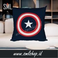 Bantal Dekorasi / Bantal Sofa / Bantal Kotak - Captain America Marvel