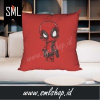 Bantal Dekorasi / Bantal Sofa / Bantal Kotak - Deadpool Superhero