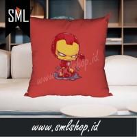 Bantal Dekorasi / Bantal Sofa / Bantal Kotak - Ironman Superhero