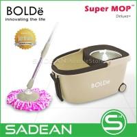 Alat Pel Lantai BOLDe Super MOP Deluxe+ Stainless Roda Hadle Tarikan
