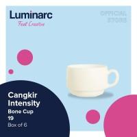 Luminarc Cangkir Intensity - Bone Cup 19 - Box of 6