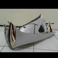 PROMO sayap sirip body depan motor honda supra fit new warna silver