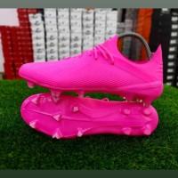 Sepatu Bola Adidas X 19.1 Loyalty Full Pink FG