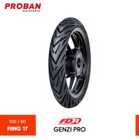 Ban Motor FDR TL GENZI PRO 100/80 Ring 17 Tubeless