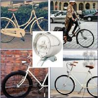 Ontel Led. Lampu Depan Sepeda Brompton Model Classic Vintage Onthel