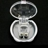 Alat anti dengkur atau ngorok snore stopper magnetic dijamin ampuh ori