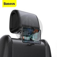 BASEUS Backseat Headrest Car Phone Holder Mount Bracket Ipad Tablet Hp
