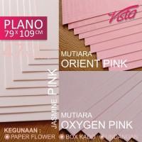 kertas jasmine plano kertas pink MUTIARA 200gr Backdrop paper flower