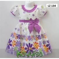 Baju Dress Anak Perempuan Terusan umur 5 Tahun Bahan Katun Jepang