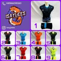 Baju Kaos Olahraga Jersey Pria/Wanita Sepakbola Futsal Volly Badminton