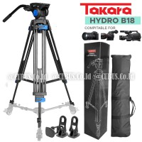 TAKARA HYDRO B18 Tripod Profesional Fluid Head Foto Video