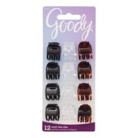 Goody classic 82809 small half claw clip 12ct (Jepit Rambut)