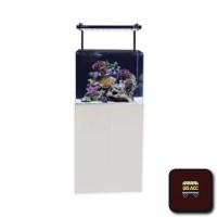 Aqua One Set Akuarium Dan Kabinet Mini Reef 120 - Putih