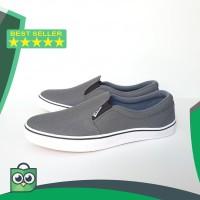 Sepatu Vans Slip On Pria - Sepatu Slop Santai Tanpa Tali - Hitam 39