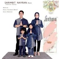 Baju Couple Sarimbit Keluarga Muslim Family Set Nayran Jhn 2