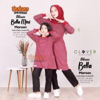 BAJU COUPLE Atasan Blouse Kaos Ibu dan Anak Bella Thaluna Clover