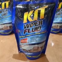 KIT WIPER FLUID 400 ml Pouch (Refill) Air Cairan Pembersih Kaca Mobil