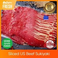 Daging Sapi Lapis Slice Halal US Beef Sliced Sukiyaki Yakiniku Shabu