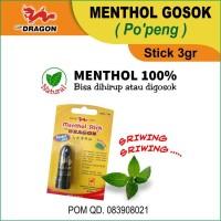Menthol Stick Cap Dragon (Po'peng) 3gr