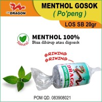 Menthol Refill LOS SB Cap Dragon 20gr