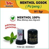 Menthol Gosok Cap Dragon (Po'peng) H1 5gr