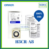 TIMER OMRON H3CR-A8 100-240VAC H3CR A8 PERS AUTONIC AT8N