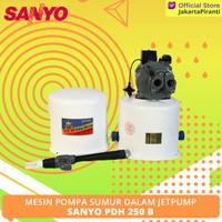 Mesin Pompa Jetpump Sanyo PDH 250 B -Jetpump 250 Watt (Sanyo PDH 250B)