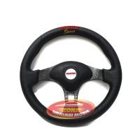 Steer Setir Stir Racing Mobil NEW EVO AVION 14 INCH HITAM MOMO LIMITED