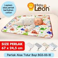 BABY LEON Perlak Bayi Bolak-Balik BGS-03-10 Alas Tidur Bayi Alas Ompol